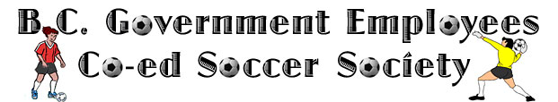 BC Government Employees Co-Ed Soccer Society